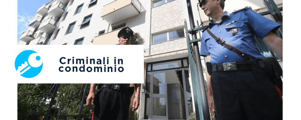 La criminalità in condominio